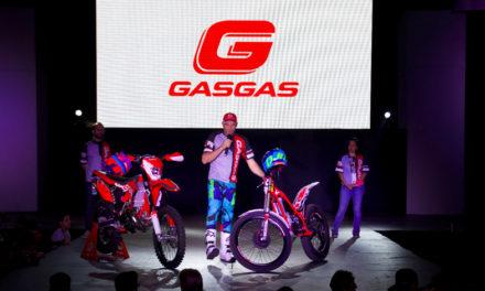 David Cobos, el grande del trial en Expo Moto.