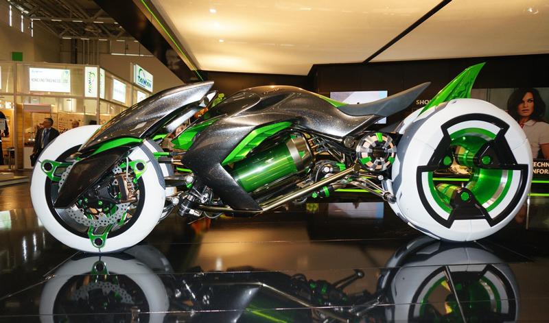 top 5 las motos futuristas m s impresionantes presentadas en 2017 motociclo. Black Bedroom Furniture Sets. Home Design Ideas
