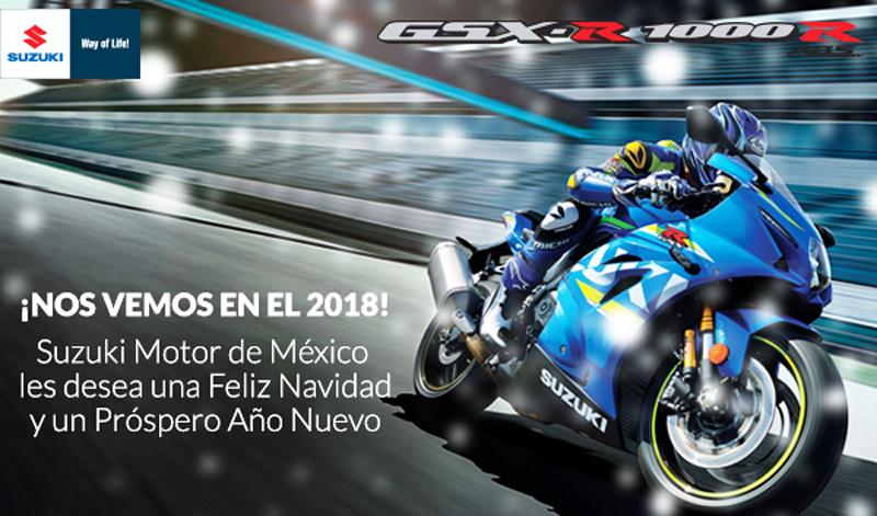 Suzuki Motor de México te desea felices fiestas