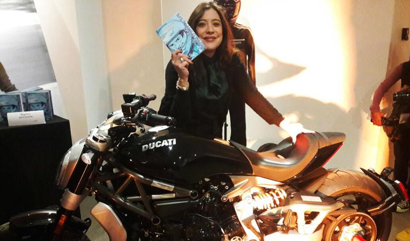 Exitosa presentación de Motosíntesis, la obra literaria que todo motociclista debe leer