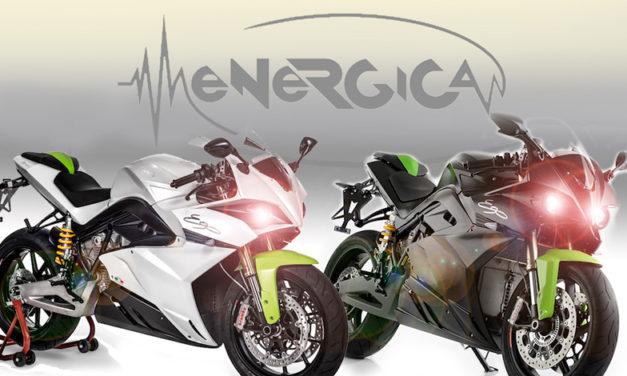 Enérgica será la marca encargada de abastecer las motos eléctricas para las parrillas del MotoGP 2019