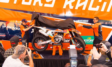 Develan la nueva KTM 450 SX-F Factory Edition 2018