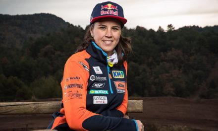 Laia Sanz ya está lista para el Dakar 2018