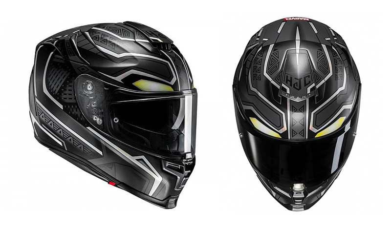 Súmate al rugido del nuevo casco HJC RPHA 70 Black Panther