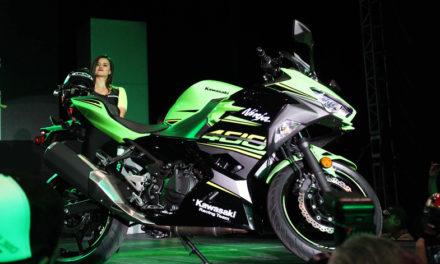 La poderosa Ninja 400 de Kawasaki salió a la luz en el Foro de Expo Moto