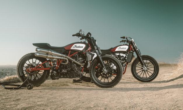 Indian Motorcycle presenta la Scout FTR1200 Custom: una edición especial de campeonato