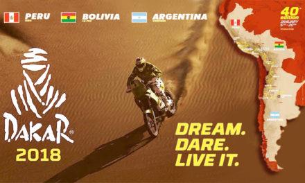 Resumen del Dakar 2018 (Etapa 3-8)