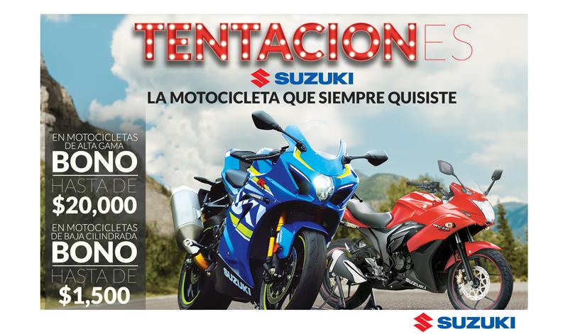 ¡Últimos días de Tentaciones Suzuki!