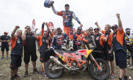 Matthias Walkner  se proclama ganador del Rally Dakar 2018; primera victoria para Austria