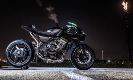 La futurista Honda CB4 lista para arrancar motores en este 2018