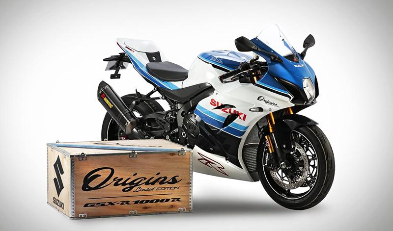 Homenaje a una grande, Suzuki GSXR 1000 R Origins