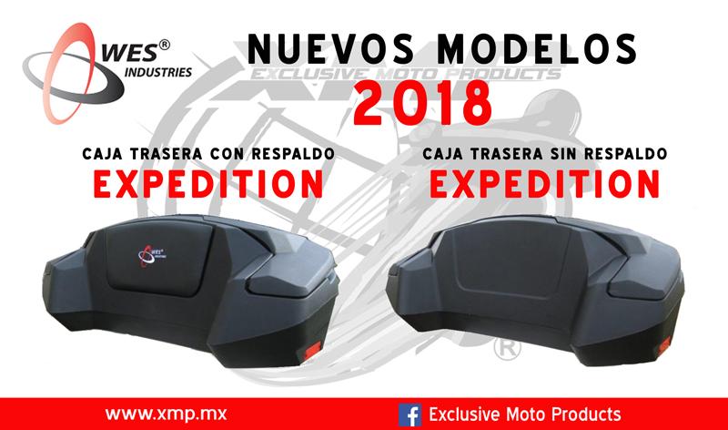 Nuevas cajas traseras WES 2018
