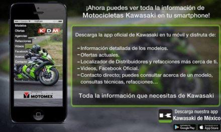 La aplicación acorde a tu estilo de vida, #Kawasaki