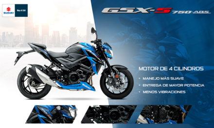 Sentirás que vuelas con la Suzuki GSX-S 750