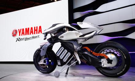 """2018, Yamaha presente en el CES con su sorprendente """"moto del futuro"""""""