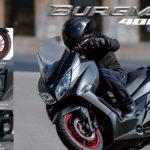 ¡Burgman 400, funcionalidad y confort a donde quiera que vayas!