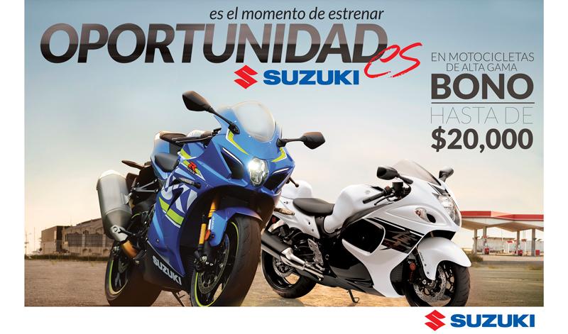Inicia el mes de febrero con la oportunidad de comprar la Suzuki de tus sueños