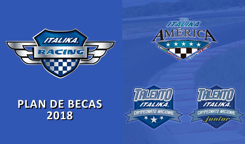 Plan de becas ITALIKA Racing 2018
