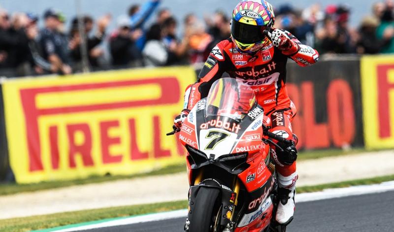 Arranca el Campeonato Mundial de Superbike con una victoria para  Marco Melandri