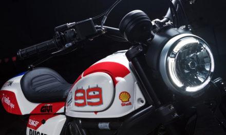 Conoce la Ducati Scrambler 'Trackster', inspirada en la MotoGP de Jorge Lorenzo