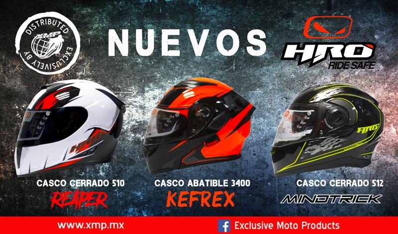 Nuevos modelos de Cascos HRO