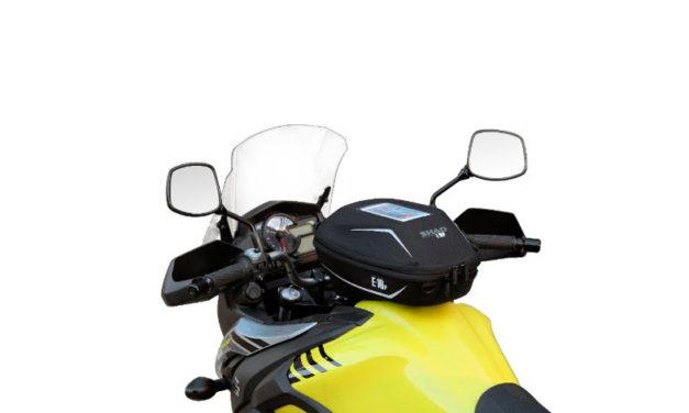 Pin System: la manera perfecta de integrar la bolsa de tanque en tu moto