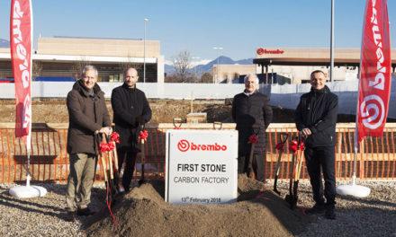 Comienza la construcción de la nueva fábrica Brembo de carbono, especial para carreras