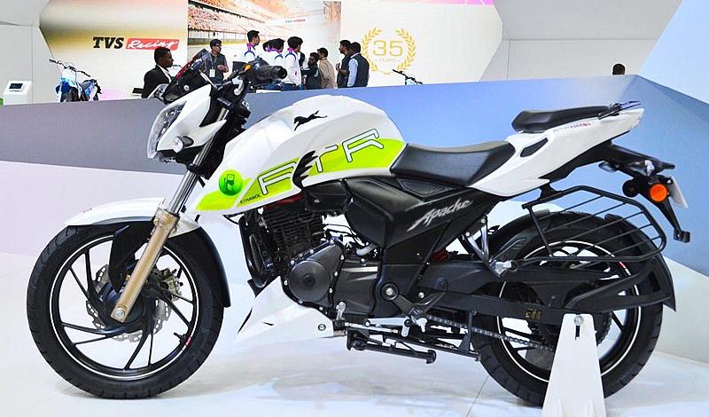 TVS innova con su nueva moto ecológica