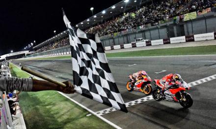 Andrea Dovizioso gana en la primera carrera del Campeonato Mundial de MotoGP