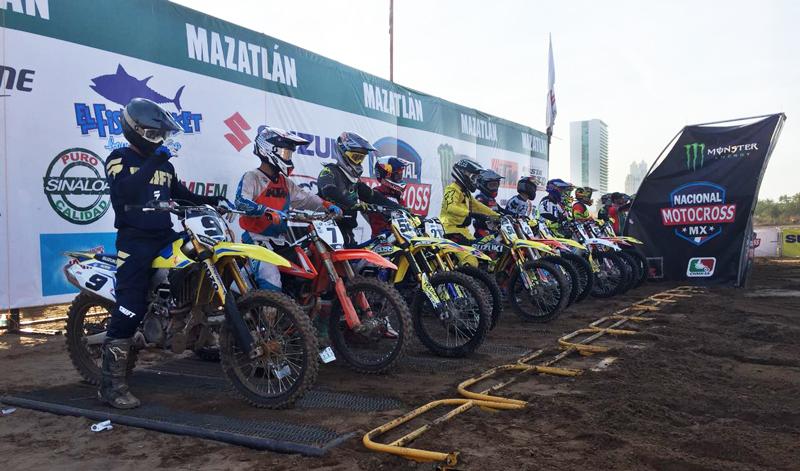 Se vive la cuarta fecha del Campeonato Nacional de Motocross