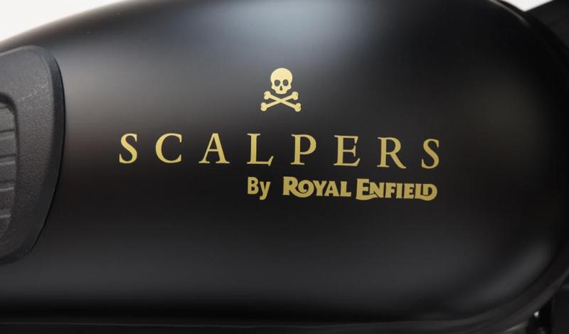 Royal Enfield y Scalpers se unen para crear una moto muy especial
