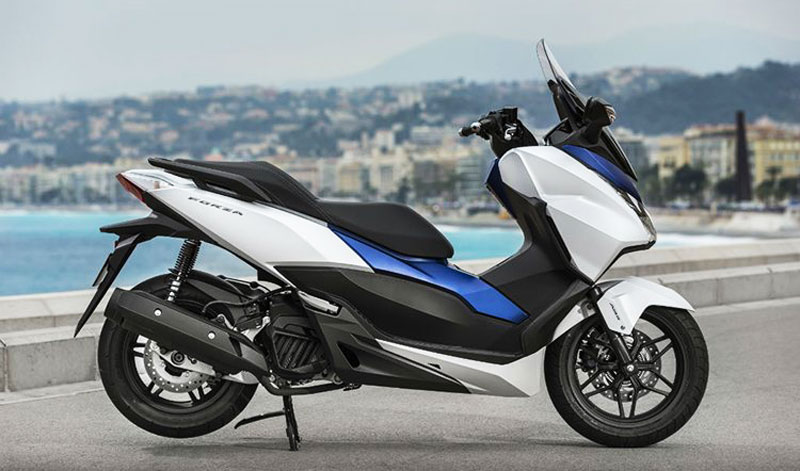 Honda presenta su nuevo modelo, Forza 300 2018