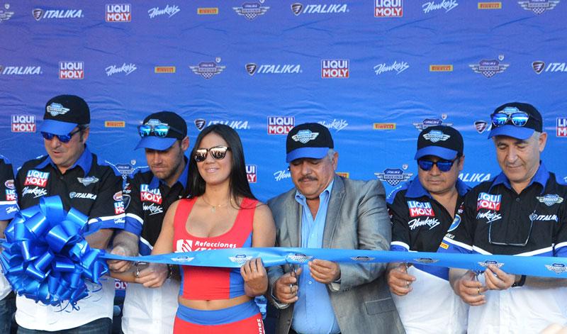 Banderazo de salida de la temporada 2018 de Italika Racing