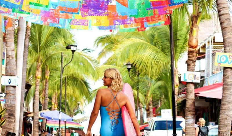 """La playa """"Hippie-chic"""" por excelencia"""