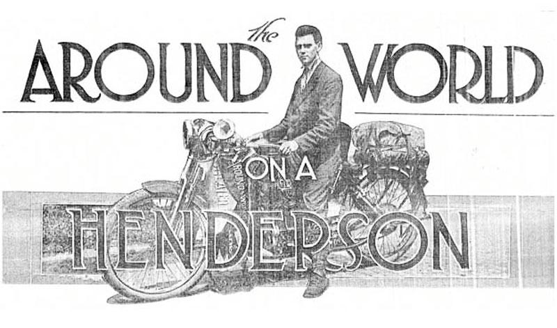 Carls Stearns Clancy, historia del primer viajero que le dio la vuelta al mundo en moto cuando no existían las carreteras