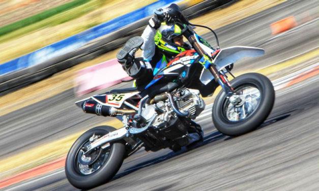 Emiliano Zamudio persigue su sueño de ser piloto de MotoGP. Especial mes del niño