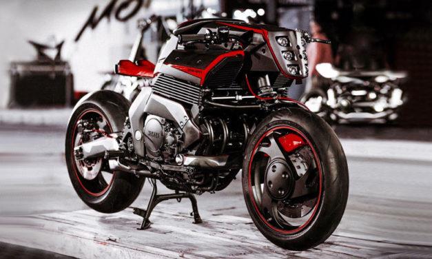 Déjate desafiar por esta Yamaha GTS 1000 Rhodium Omega