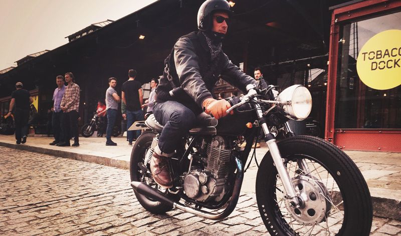 Arma tu look Cafe Racer