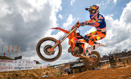 Jeffrey Herlings se hace de la victoria en Portugal