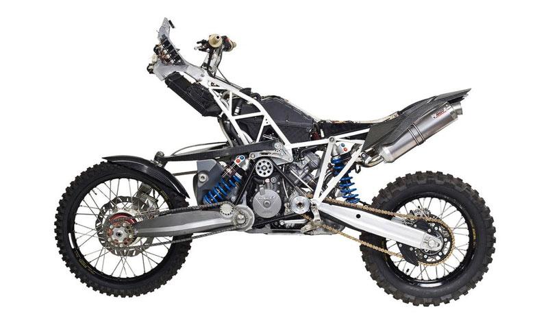 KTM 990 Adventure, la moto para Offroad de doble tracción