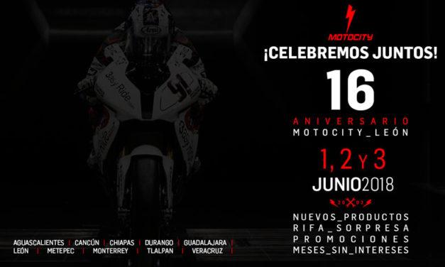 Gran celebración del 16° Aniversario de MOTOCITY