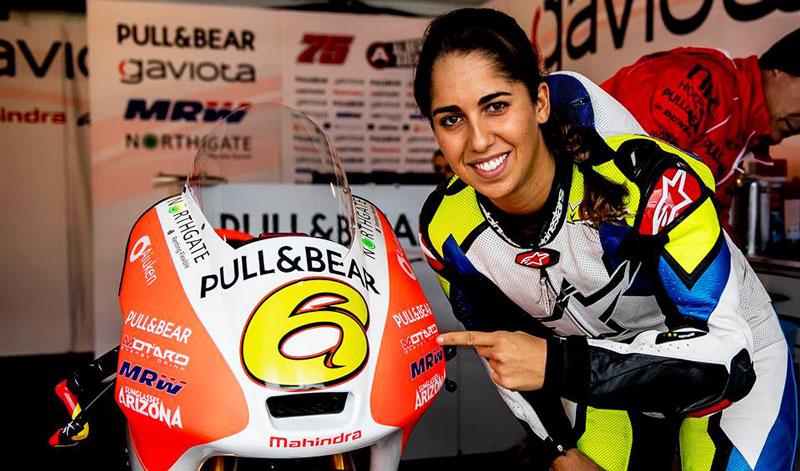 María Herrera, un claro ejemplo de perseverancia y amor por las dos ruedas