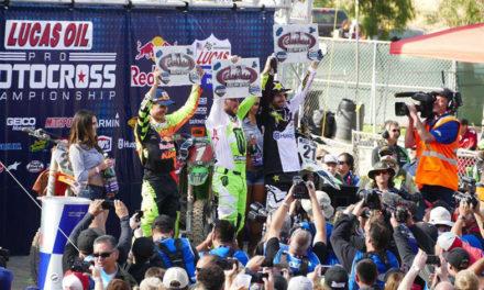 Victoria para Eli Tomac en la segunda ronda del AMA Motocross en Glen Helen