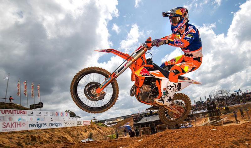 Jeffrey Herlings dominó el MXGP
