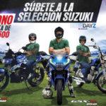 ¡Subete a la selección Suzuki!