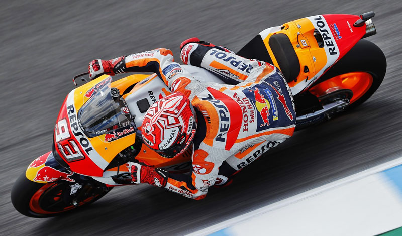 Marc Márquez triunfa en Jerez después de una accidentada carrera