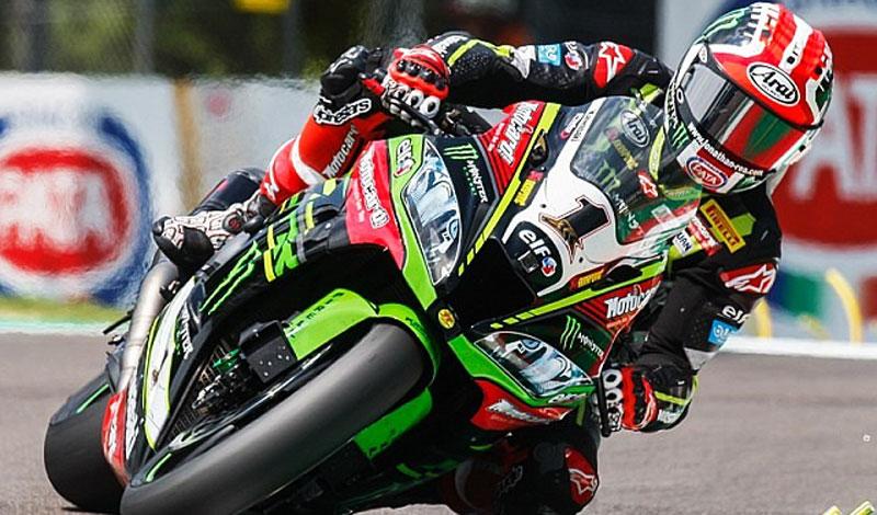 Doblete  y récord para Jonathan en el Campeonato Mundial de Superbike celebrado en Imola