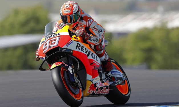 Marc Márquez consigue su tercera victoria en el Campeonato Mundial de MotoGP