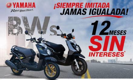 ¡La motoneta consentida de México a 12 Meses Sin Intereses!