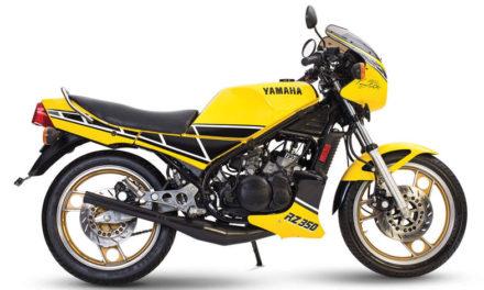 La legendaria Yamaha RZ 350